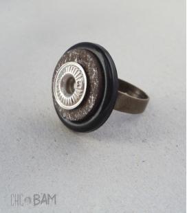 bague BOUTON rondelle / rivet