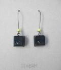 boucles GEEK Mac / noir / fluo