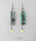 boucles GEEK circuit imprimé