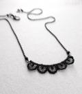 collier DENTELLE noir
